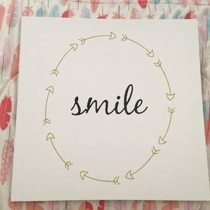 """Smile"" 😁 decorative canvas"